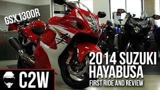 10. 2014 Suzuki Hayabusa GSX1300R - First Ride and Review