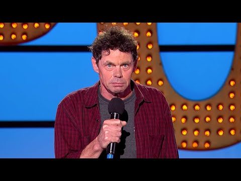 Rich Hall on Americans and Guns | Live at the Apollo | BBC Comedy Greats