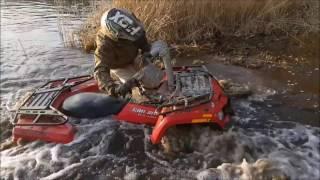 10. CAN-AM 400 EFI deep water, mud, off road, Borne Sulinowo, ATV
