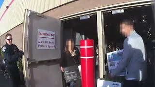 Cops Wait at Back Door of Costco for Thieves Trying to Make Getaway
