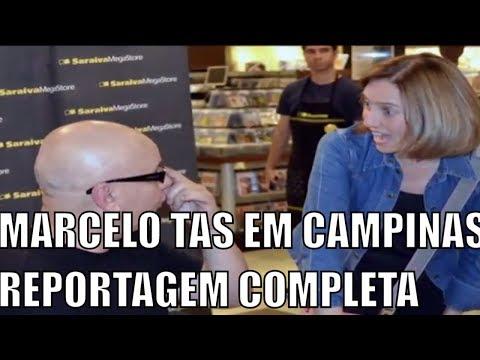 VÍDEO EXCLUSIVO: Marcelo Tas do CQC e Edlaine Garcia da Globo conversam com o Blog Hupe