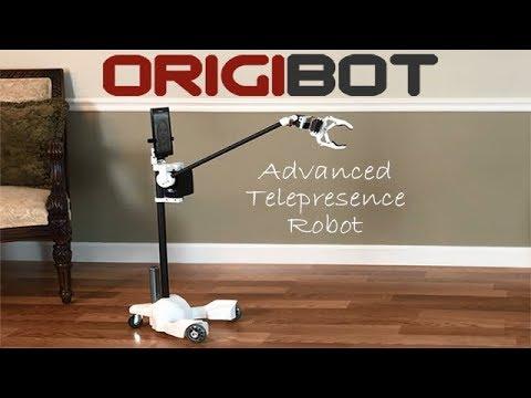 ORIGIBOT Telepresence Robot met arm en grijper