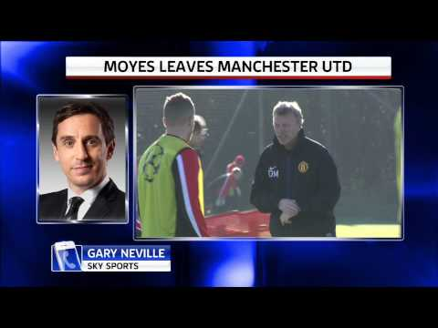 gary - Gary Neville says David Moyes has become a scapegoat for Manchester United's poor performances and the players must take responsibility for his sacking. Subscribe to Sky Sports Official for...
