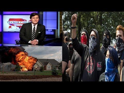 Antifa Thugs Attack Tucker Carlson's Wife and Children - Coffee Corner