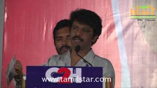 Director Cheran's C2H Press Meet Clip 1
