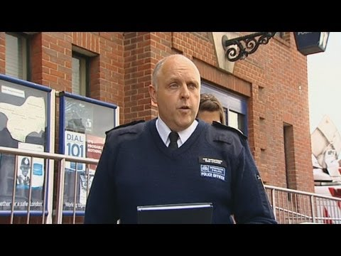 police - Police have issued a statement following the attack in Woolwich, south east London on Wednesday afternoon which left a man dead. Commander Simon Letchford fr...