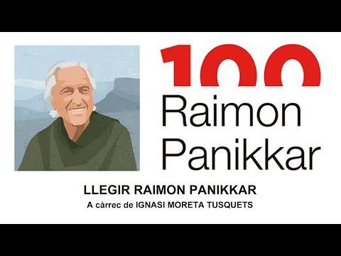 Llegir Raimon Panikkar, conferència d'Ignasi Moreta a Sant Feliu de Llobregat