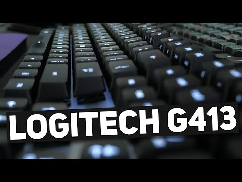 Silver is beautiful. - Logitech G413 Review