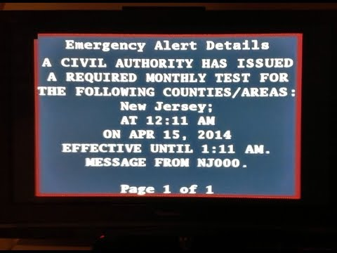 Hawaii Missile Emergency Alert Audio