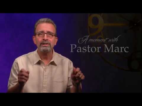 "A Moment with Pastor Marc #48<br /><strong>""The Potter's Hands""</strong>"
