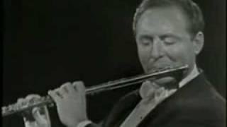 Johanna sebastin Bach -  Sonate für Flöte und Cembalo BWV 1020 von Jean-Pierre Rampal.