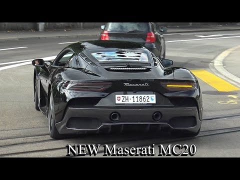 Supercars in Zürich Vol.294 - New Maserati MC20, FORD GT, 7x Aventador, 812GTS, 599GTO, Pista, GT2