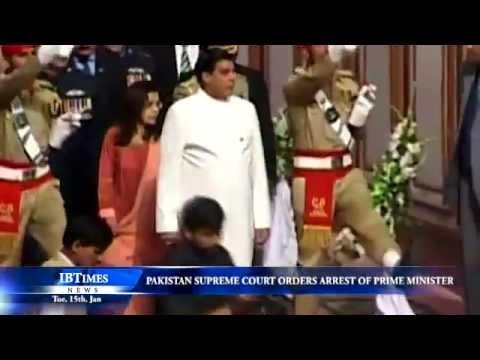 Pakistan Supreme Court orders arrest of Prime Minister