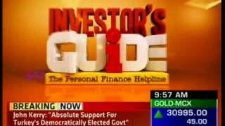 ET Now Investor's Guide -16 July 2016 - Dr Suresh Surana, Founder, RSM Astute Consulting