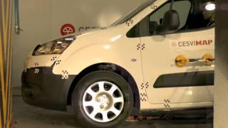 Crash Test delantero Peugeot Partner