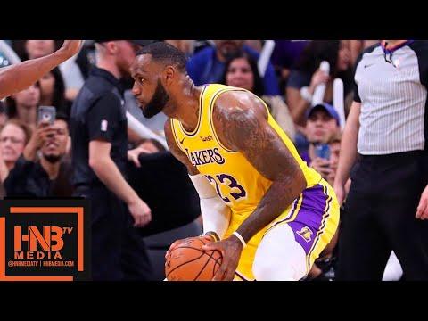 Los Angeles Lakers vs San Antonio Spurs 1st Half Highlights   10.27.2018, NBA Season