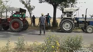 Mahindra 275 di and swaraj 744 tractor tochan sidhu  moosewala  replay song