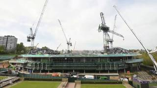 Wimbledon's No.1 Court Project – The first phase