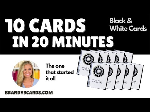 cards - Create 10 handmade hand stamped greeting cards in 20 minutes. This video tutorial features Stampin Up products and stamp sets. Sizes & Dimensions Click here ...