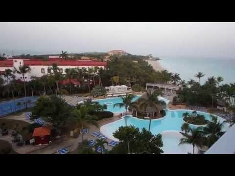 Hotel Melia Varadero: THE LEVEL Suite Ausblick auf Hotel Las Americas und DuPont Villa  -  Kuba