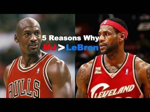 5 Reasons Why LeBron James Will NEVER Surpass Michael Jordan As The GOAT