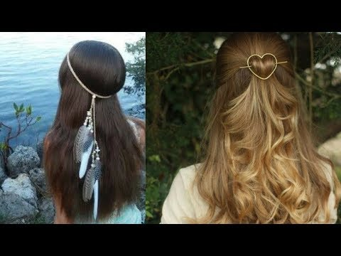 Hairstyles for short hair - Simple Hairstyle For Girl For Everyday   Part 3