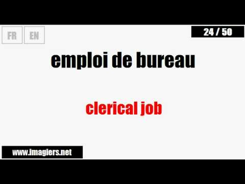 [French vocabulary] Business French #25