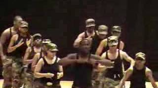Cedar Hill Step Team -JROTC