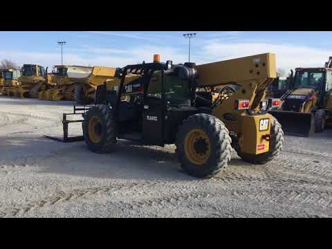 JLG INDUSTRIES, INC. MANIPULADORES TELESCÓPICOS TL642C equipment video ztJksqHM65U