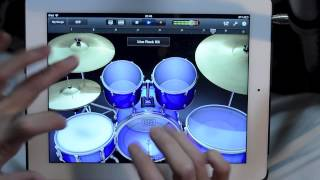 iPad Drum Solo - This Guy Killed It!