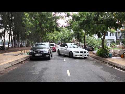 Cách đậu xe song song cho người mới lái