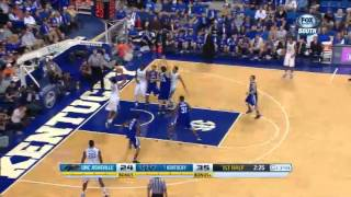 11/08/13 UNC Asheville Vs Kentucky Basketball Highlights