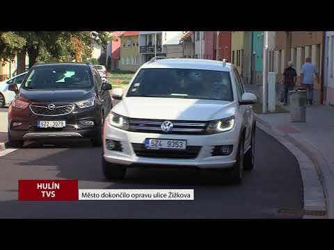 TVS: Hulín - Oprava ulice Žižkova