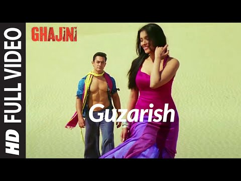 Video Guzarish (Full Song) Ghajini feat. Aamir Khan download in MP3, 3GP, MP4, WEBM, AVI, FLV January 2017