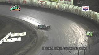Knoxville Raceway 9-25-15 Late Model Nationals