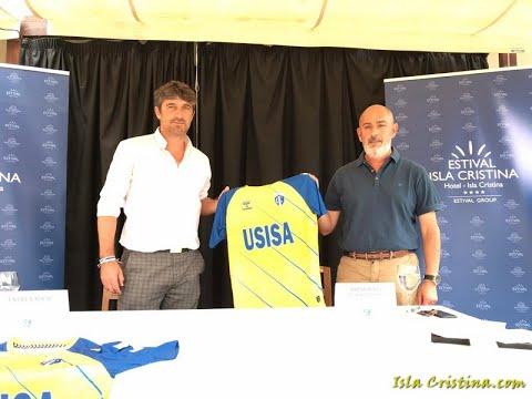 Presentación de Pepe Vázquez como nuevo Entrenador del Isla Cristina F C