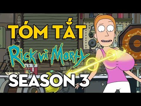 Tóm tắt Rick and Morty season 3