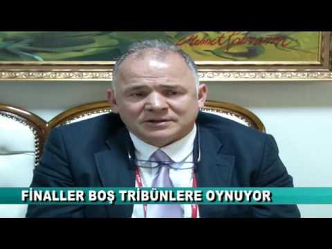 FİNALLER BOŞ TRİBÜNLERE OYNUYOR