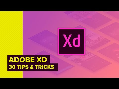 Adobe XD CC - 30 Tips & Tricks