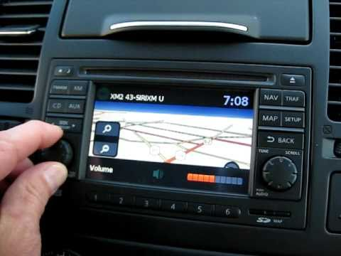 """Nissan now offers a very nice SD card based Navigation and Satelite system for the Nissan Versa 1.8SL and Nissan Sentra 2.0SL. It features a 5"""" QVGA color"""