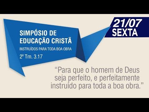 Pr. Lauri Villas Boas - 1º Simpósio de Educação Cr