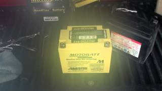 6. Easiest way to change your Battery on a 2008 Kawasaki Versys