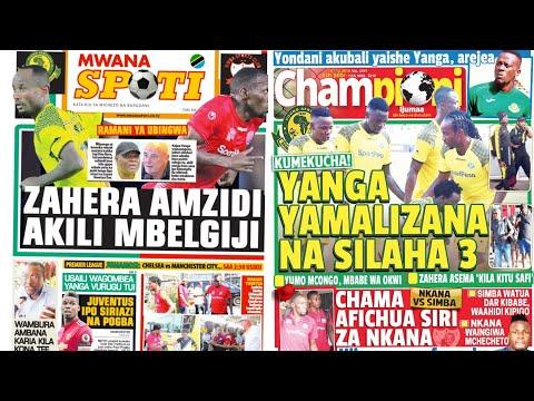 MICHEZO Magazetini Ijumaa 7/12/2018:Simba Wajimba Kuwang'oa Nkana Kibabe