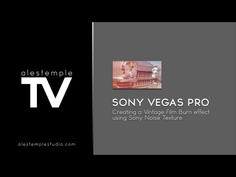 sony film - In this tutorial I demonstrate how I used Sony Vegas Pro to create a Vintage Film Burn using Sony Noise Texture. ------------------------------------------ s...