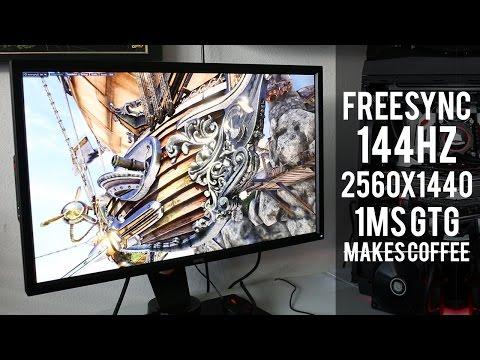 BenQ XL2730Z Freesync 144Hz Monitor Review!