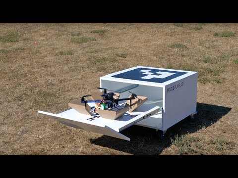 Mapture.ai autonome drone in a box demonstratie | Dronewatch © Dronewatch