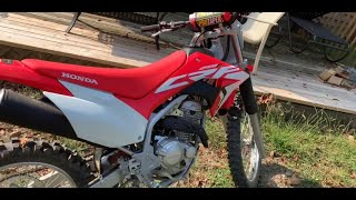 9. 2020 BRAND NEW HONDA CRF250f