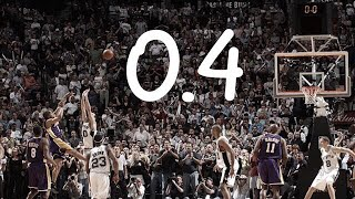 NBA Game Winners (Under 1.0 Second)