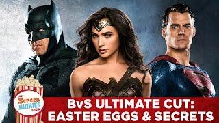 Batman v Superman Ultimate Cut - Easter Eggs and Secrets by Screen Junkies