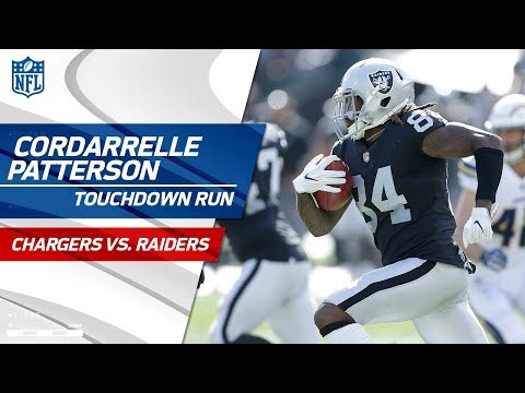 Video: Cordarrelle Patterson's Blistering Jet Sweep TD vs. LA! | Chargers vs. Raiders | NFL Wk 6 Highlights